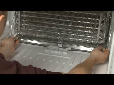 Kenmore Refrigerator Repair >> Fridge Defrost Heater Assembly Replacement – GE Refrigerator Repair (Part #WR51X10038) - YouTube