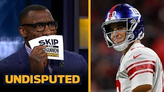 Skip and Shannon evaluate Eli Manning, Giants MNF loss to the Falcons | NFL | UNDISPUTED