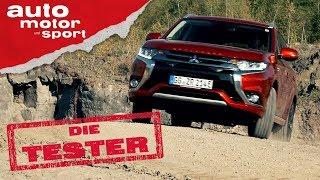 Mitsubishi Outlander Plug-In Hybrid: Über Stock und Stein - Die Tester   auto motor und sport