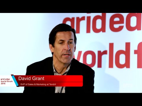 Tendril Interviewed at Grid Edge World Forum 2016