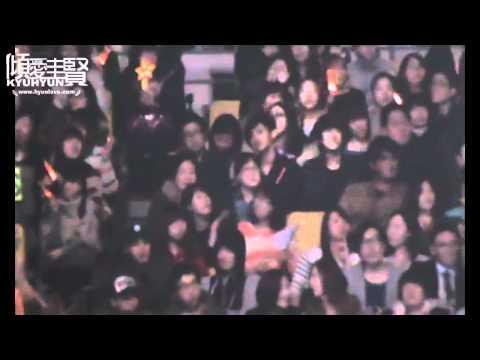[fancam] 120325 Kyuhyun and Changmin together at Shinhwa concert