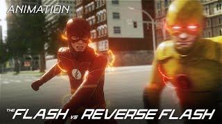 The Flash VS Reverse-Flash - Part 1 (CW 3D Fan Animation)