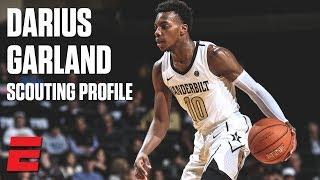 Darius Garland preseason 2019 NBA draft scouting video   DraftExpress