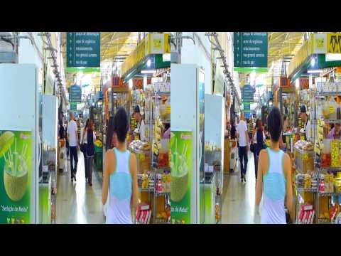 Curitiba - Mercado Municipal 3D - Abril 2013 - Lumix LX7