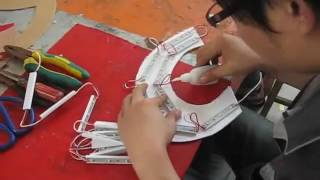 Anycall logo LED signage advertising letters making process