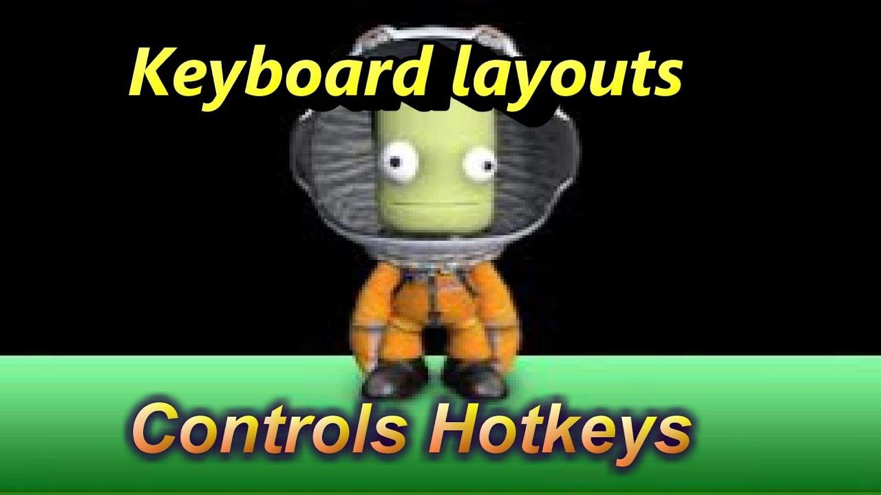 Kerbal Space Program : Keyboard,layouts, Controls ...