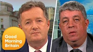 Pro-Gun Campaigner Says 'Nothing Should Be Done' About Guns in the U.S. | Good Morning Britain