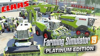 TRYING OUT THE CLAAS MACHINERY | FARMING SIMULATOR 19 PLATINUM EDITION