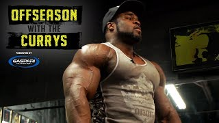 Inside Brandon Curry's Unreal Transformation In Kuwait | Offseason With The Currys