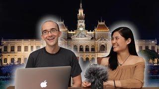 Dan (với vợ) thử nói giọng Nam