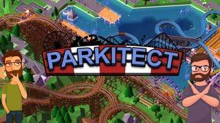 Parkitect Multiplayer with BeyondDrewTV!