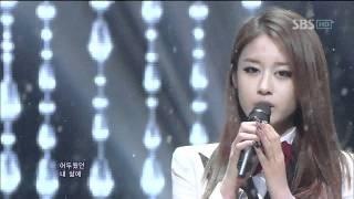 T-ara+Davichi  - We were in love (우리 사랑했잖아) @SBS Inkigayo 인기가요 20120108