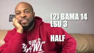 How Bama Fans Watched Week Ten Games (2017)