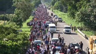 Migrant caravan a 'national emergency:' Donald Trump