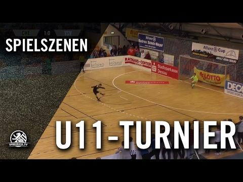 FC Chelsea - TSV 1860 München (U11 E-Junioren, Halbfinale, Allianz Cup 2017) - Spielszenen | SPREEKICK.TV