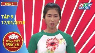 HTV THÁCH THỨC DANH HÀI MÙA 4 | Xuất hiện thí sinh thắng 100 triệu | TTDH #9 FULL | 17/1/2018