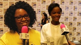 "BGN Interview: Jamie chats with Letitia Wright of ""Black Panther"""