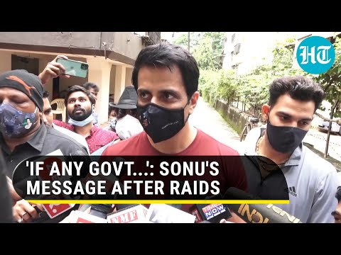 'Why I've come down...': Sonu Sood on I-T raids, Rs 20 crore tax evasion charge