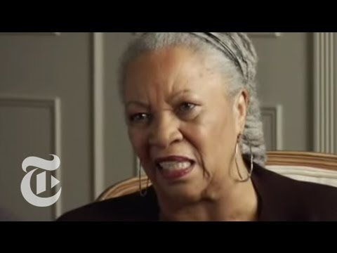 A Conversation With Toni Morrison | The New York Times