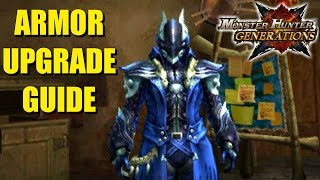 Monster Hunter Generations Equipment Upgrade Guide Part 2: Armor