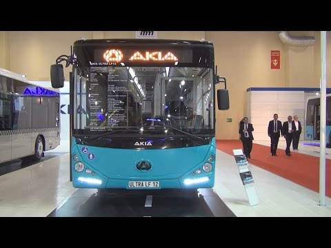 Akia Ultra LF12 Bus (2016) Exterior and Interior in 3D