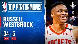 Westbrook SHOWS OUT In Return To OKC!