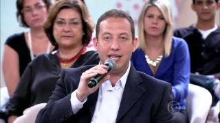 Luiz Gustavo Medina no Programa da Fátima Bernardes