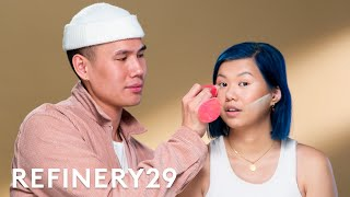 Gigi Hadid's Makeup Artist Patrick Ta Does My Makeup | Beauty With Mi | Refinery29