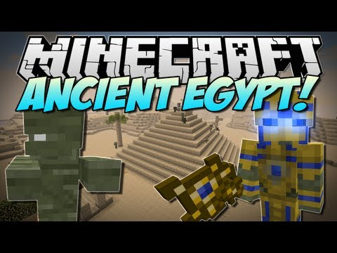 Minecraft   ANCIENT EGYPT! (Battle The Almighty Pharoah, Mummies & More!)   Mod Showcase [1.5.2] - Smashpipe Games