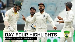 India close in on Test victory | Third Domain Test