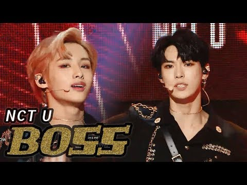[HOT] NCT U - BOSS, 엔시티 유 - 보스 Show Music core 20180303