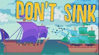 Don't Sink - A New Giant Pirate Ship! - Ruling The Seas - Don't Sink Alpha Gameplay Highlights