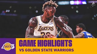 HIGHLIGHTS | Dwight Howard vs. Golden State Warriors (10/14/19) | Lakers