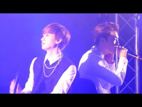 [FANCAM] 141113 Eunhyuk & Donghae KFF London - Ment + Still You