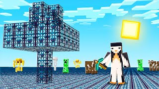 Minecraft BUT The ENTIRE World Is MOB SPAWNERS