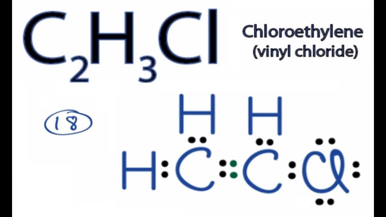 lewis dot structutre for c2h3cl - taitrafermipu15 - Blogcu.com C2h5cl