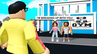 GIRL Hater Trapped My Girlfriend.. He Made Her BREAK UP With Me! (Roblox Bloxburg)