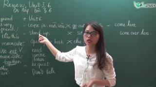 TIẾNG ANH LỚP 3 - LUYỆN THI IOE LỚP 3 - Review Vocabulary and Structures Unit 5, 6 - Cô Như Quỳnh