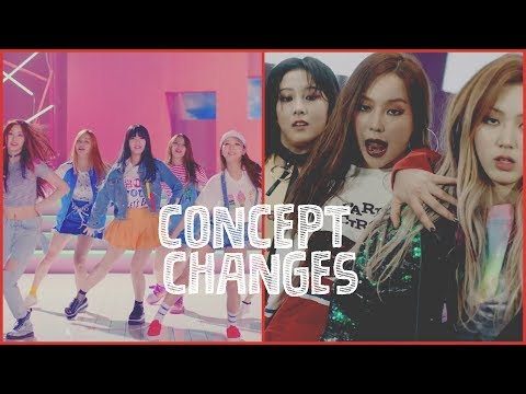 40 KPop Groups Who Drastically Changed Their Concept (1/2)