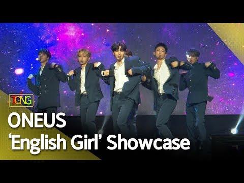 [4K] ONEUS(원어스) 'English Girl' Showcase stage (태양이 떨어진다, Twillight) [통통TV]