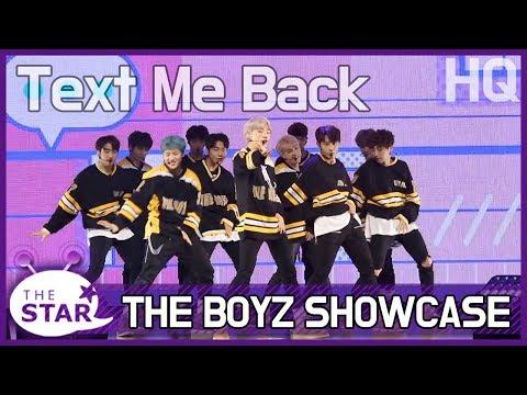 더보이즈 (THEBOYZ), 'Text Me Back' STAGE SHOWCASE (수록곡, 안무영상)