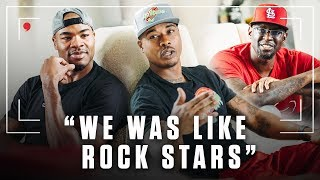 The Glory Years in L.A. with Q Rich, D Miles and Corey Maggette
