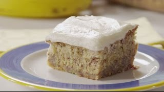 How to Make Banana Cake | Cake Recipes | Allrecipes.com