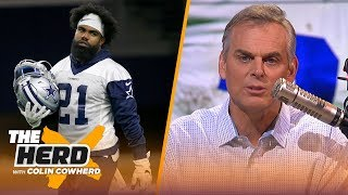 Ezekiel Elliott reportedly plans to skip training camp, Colin says to trade him | NFL | THE HERD