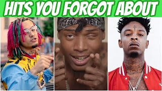 HIT Rap Songs You Probably FORGOT Existed!
