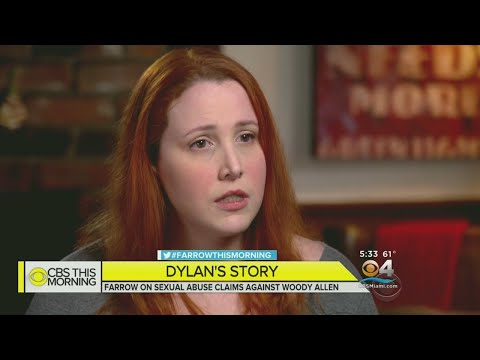 Dylan Farrow Details Alleged Abuse By Woody Allen In 1st TV Interview