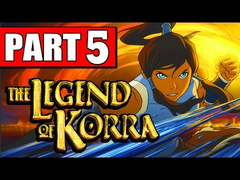 The Legend of Korra Walkthrough Part 5 CHAPTER 5 FIRE AND ICE PS4 XBOX PC [HD]