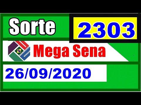 Mega Sena 2303 - Resultado da Mega Sena Concurso 2303