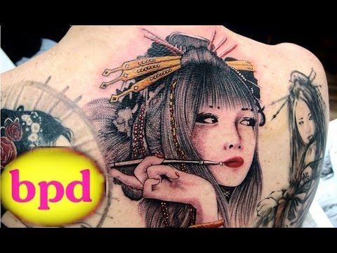 H nh x m k n nh t geisha p t i tphcm tattoo phi for Charlie cu tattoo