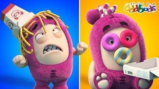 Oddbods   Food Fiasco #6   Funny Cartoons For Kids   Oddbods Show